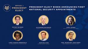 """数名拜登内阁成员""""浮出水面"""" 多为奥巴马政府旧部"""