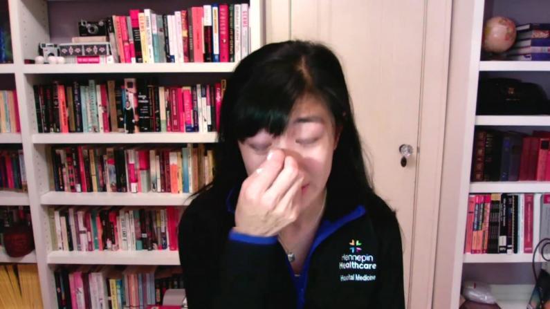 华裔医生含泪讲述惨剧:ICU救活新冠患者,却发现…