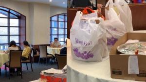感恩节纽约中餐馆堂食难满座 外卖数量增25% 订单均价翻倍
