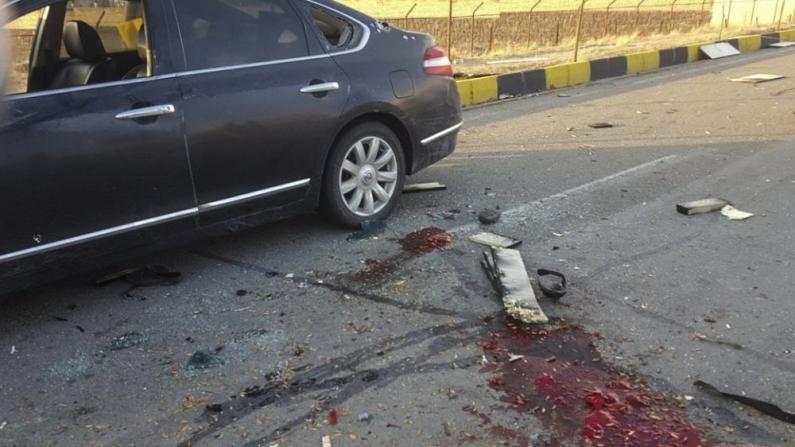 伊朗顶级核专家遇刺身亡:座车一片狼藉 满地血迹斑斑