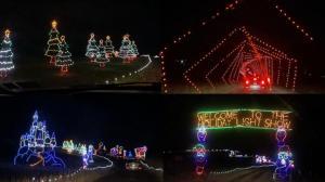 疫情下的假日季:麻州免下车大型灯光秀缤纷闪耀