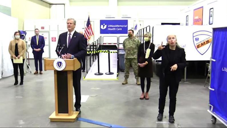 住院数激增麻州将建第二家野战医院 白宫建议州长颁布更多限制令