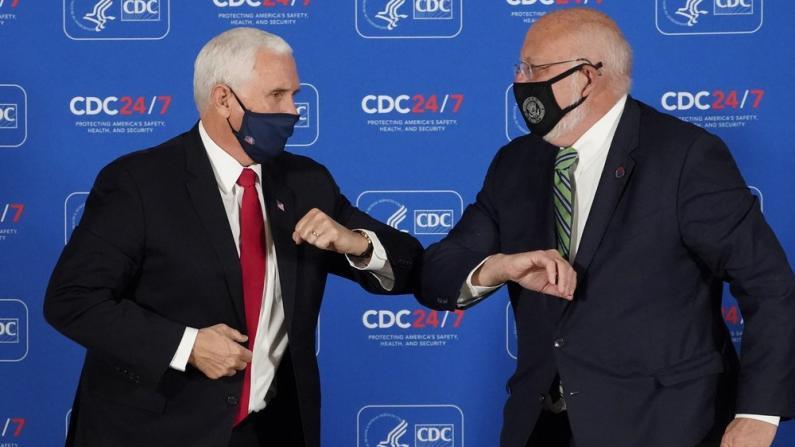 """欢迎彭斯来视察 CDC主任泄天机?""""我们离任后…"""""""