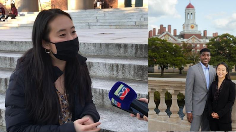 这名华裔女生 凭什么当选哈佛学生会新晋副主席?