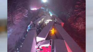 66车连环相撞 4尺大雪中被埋10小时 美东风雪酿多起灾祸