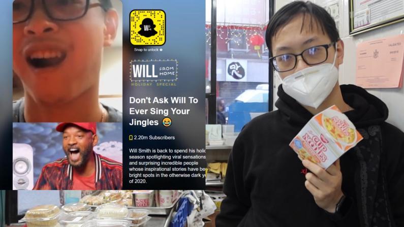 纽约华裔小哥疫情期间的这个暖心举动 让威尔史密斯都为他打call