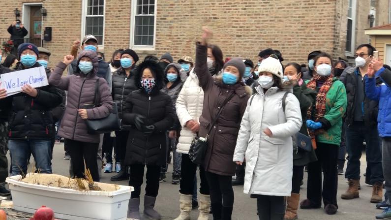 芝加哥华男惨死家门口 社区悼念 要求严惩凶手