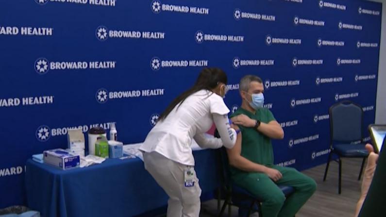 麻州医护和长期护理机构已开始接种疫苗 应急人员将在1/11开始大规模接种