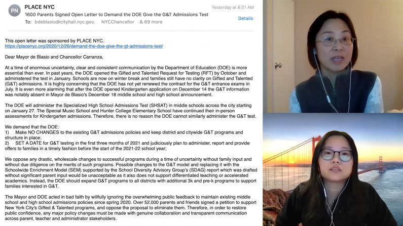 天才班报名迟迟没消息 纽约市1600家长联署抗议 教育局这样回应