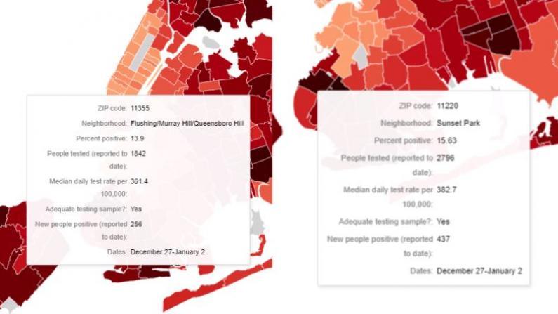 纽约华人区感染率破15% 医生:六大原因导致