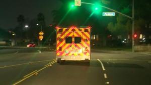 加州医疗系统濒临崩溃 病人只能在救护车上苦等