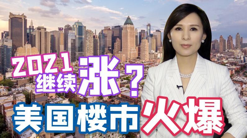 【谭天说地】美国楼市火爆 2021继续涨?纽约房产趋势如何?