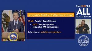 加州公布下一财年预算 新冠和教育支出为两大重点