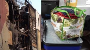 只穿睡衣逃生 一生家产尽毁 纽约法拉盛大火七旬老人受灾 社区捐助