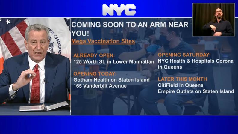 纽约市新增两例变种病毒患者 白思豪吁立刻实施英国旅行禁令