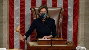 【实录】国会众院表决通过弹劾川普案