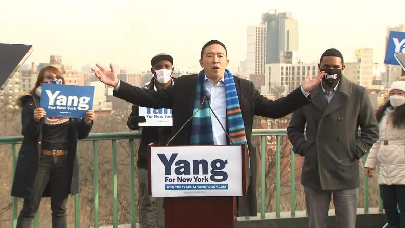 """杨安泽宣布竞选纽约市长:""""城市现在的样子让我心碎"""""""