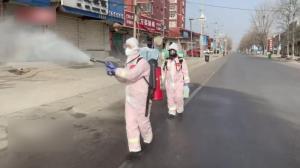 直击石家庄市藁城区展开全域消毒