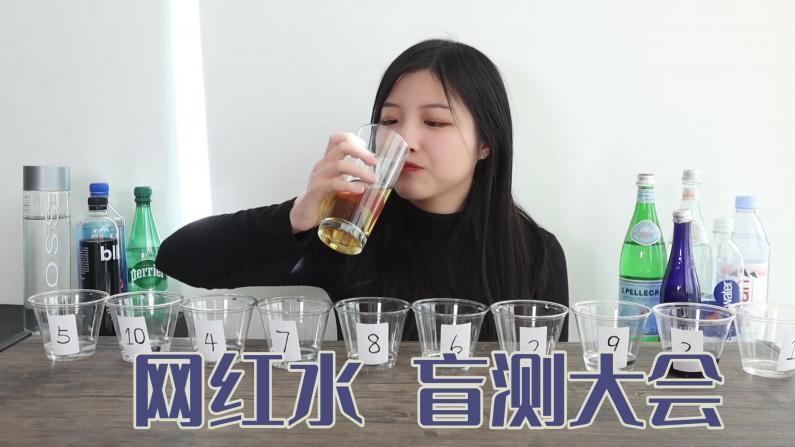 【索菲亚一斤半】盲测十瓶平价水 我能喝出他们的价格吗?