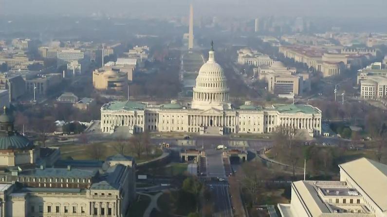 【航拍】全空了!这样的华盛顿市中心你见过吗?