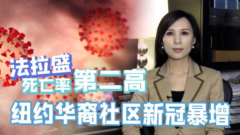 【谭天说地】纽约华裔社区新冠病例暴增 法拉盛死亡率第二高