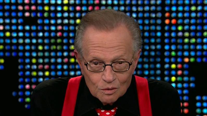 传奇脱口秀主持人拉里·金去世 生前曾感染新冠住院