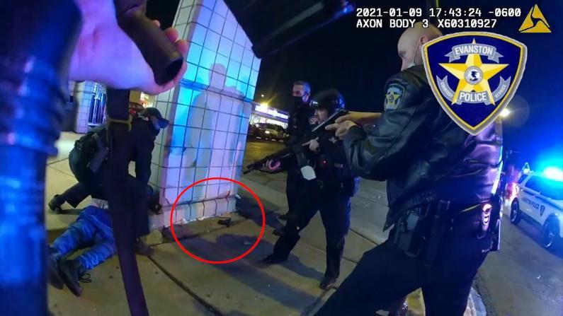 残忍杀害范轶然后枪手还与警员枪战 现场视频公布