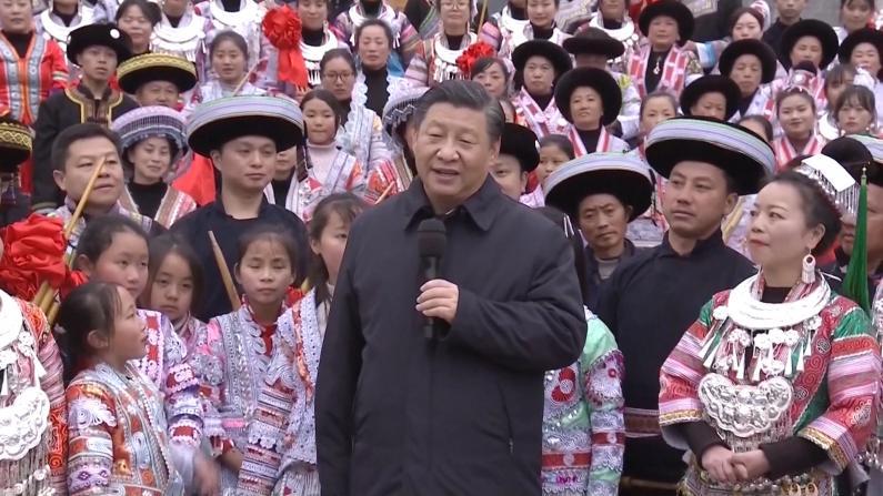 习近平向各族民众致以新春祝福
