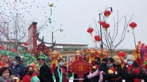 芝加哥中国城张灯结彩贺新春