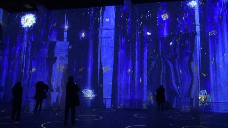 【实拍】梵高沉浸式展览全美首站—芝加哥