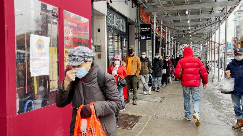 三节相会 纽约华社小商家长周末生意反弹
