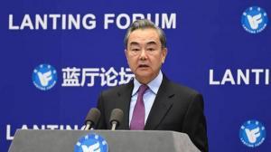 """王毅吁美国做到三个""""放弃"""" 和中国加强合作"""