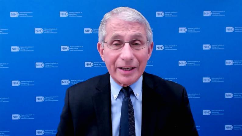 福契暗示将放松对已打疫苗者的防疫要求:等待CDC建议