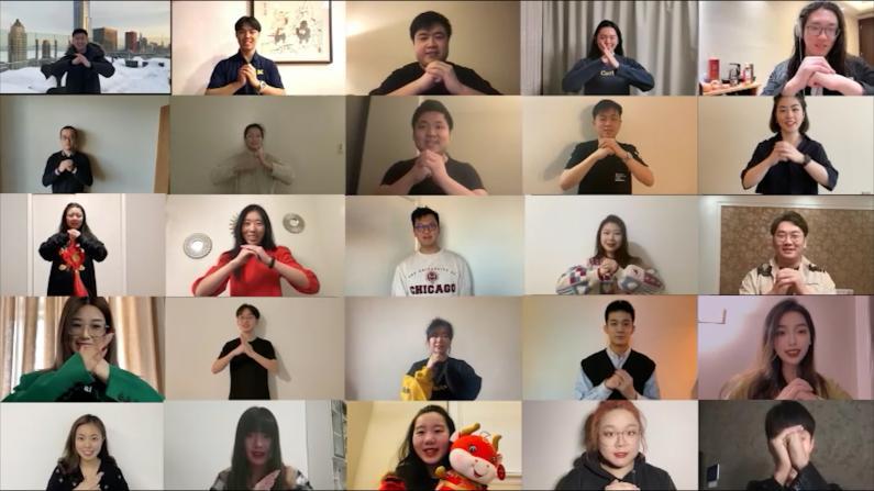 中西部地区中国留学人员闹元宵 精彩纷呈 动感十足