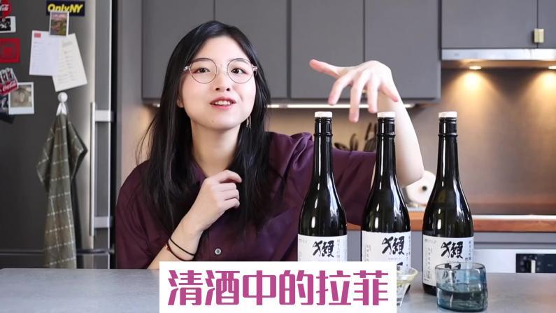 【索菲亚一斤半】清酒中的拉菲!獭祭基本款全测评,真的好喝吗?