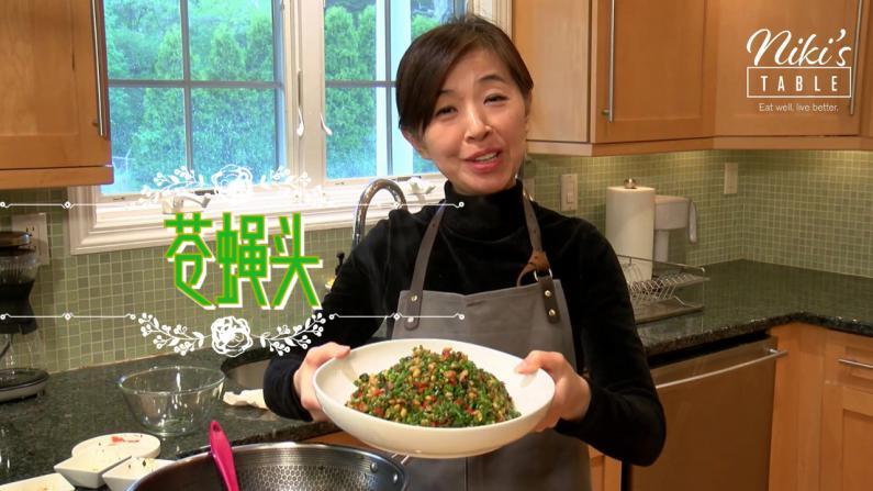 【Niki蔬食】用天贝代替肉末 鲜美营养苍蝇头