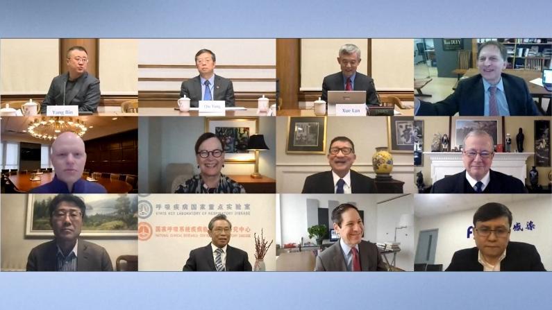 美中专家新冠疫情防控云论坛:全球群体免疫仍需2-3年