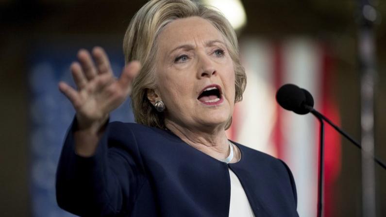 希拉里:不知道共和党人为何如此害怕川普