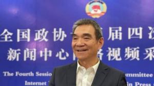林毅夫:中国经济像航空母舰 再大风浪仍能平稳航行