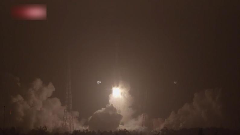 中国长征七号改遥二火箭成功发射试验九号卫星