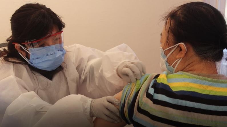 纽约法拉盛市政厅本周末开放打疫苗 550剂几小时预约完 法拉盛图书馆预计月底接种