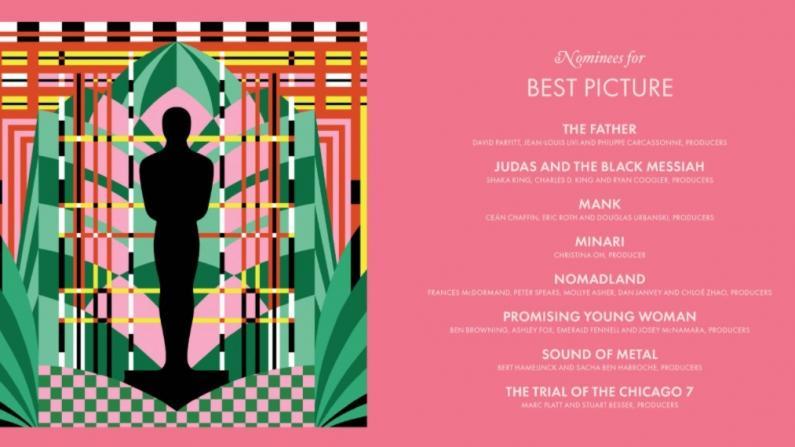 第93届奥斯各奖项提名公布 亚裔电影人迎大突破