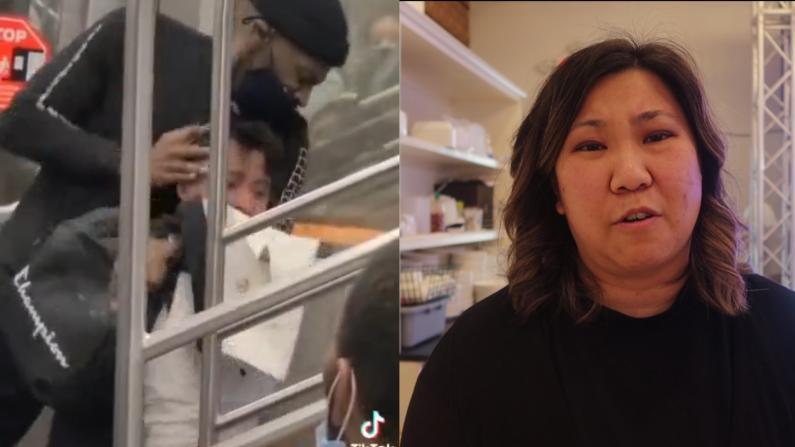 纽约地铁上亚裔被暴打 国会议员孟昭文回应美国中文网:难过、气愤!