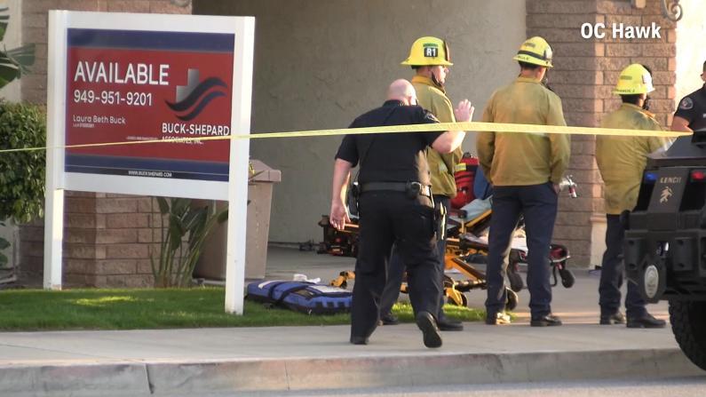 南加橘郡枪案4死1伤 嫌犯行凶后锁院门拒捕与警方枪战
