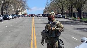 【现场】大量警车云集!国会大厦进入封锁状态