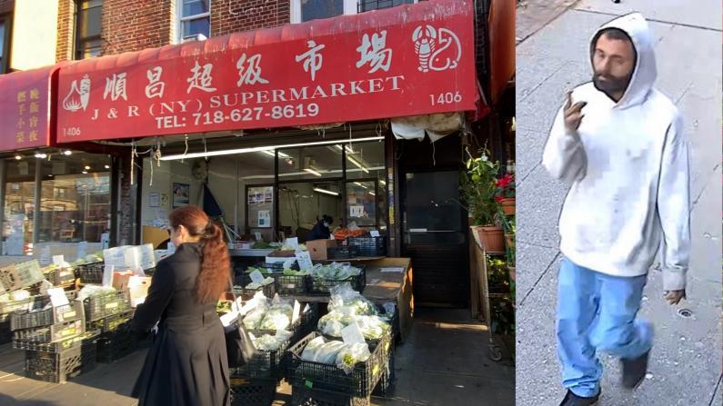 中餐馆老板勇追袭击亚裔狂徒20条街:吁警察多巡逻 华人多报警