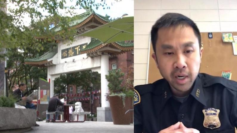 波士顿华埠警方:虽未收到仇恨犯罪报案 夜间仍派亚裔警员巡逻
