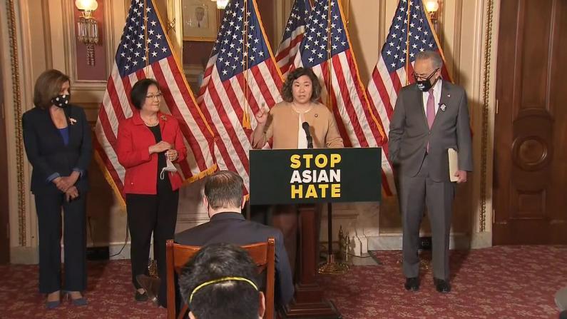 """""""忍无可忍!"""" 孟昭文等再推法案保护亚裔 呼吁共和党人支持"""