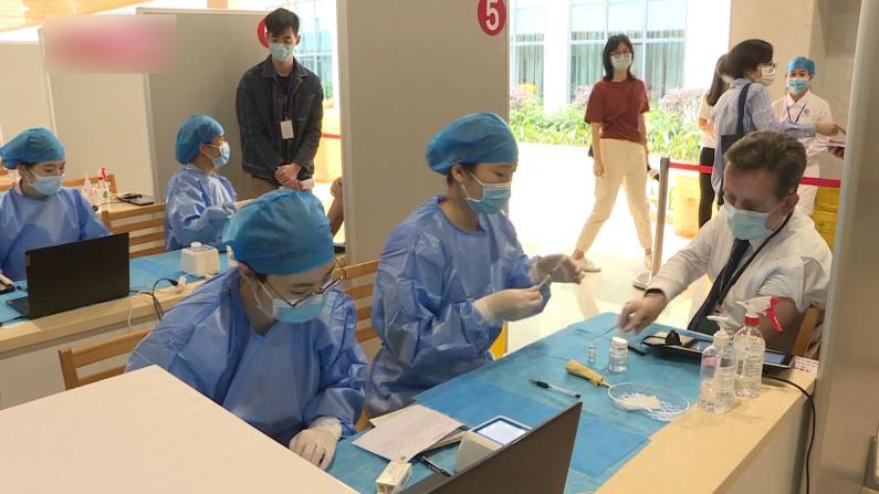 广州启动外籍人士新冠疫苗接种