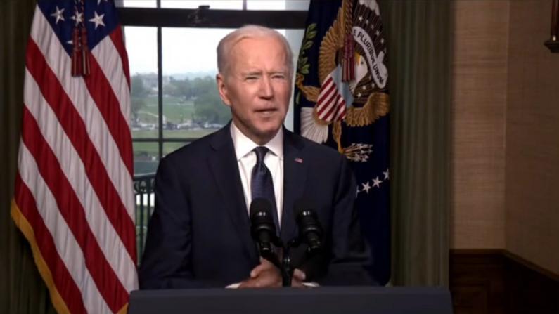 拜登宣布从阿富汗全面撤军:不会再甩给下任总统了